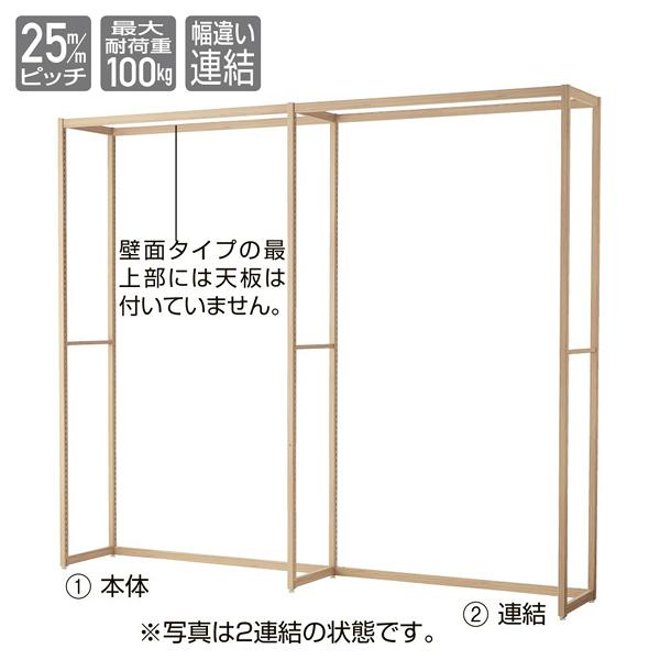 LR30 壁面タイプ W120×H210cm 連結 【メイチョー】