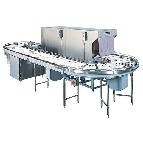 フジマック ラウンドタイプ洗浄機(アンダーフライトコンベア) FUD-25Fr 【 メーカー直送/代引不可 】【開業プロ】