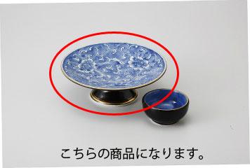 和食器 濃牡丹 高台刺身鉢 35K024-11 まごころ第35集
