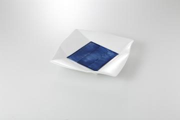 【まとめ買い10個セット品】和食器 青雲 正角皿(小) 36K125-13 まごころ第36集 【キャンセル/返品不可】【開業プロ】