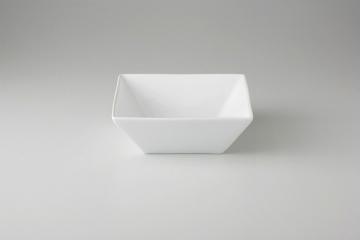 和食器 白中華 スクエアボール大(中国) 35K376-68 まごころ第35集