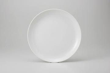 """和食器 白中華 12""""メタ玉皿 35K376-13 まごころ第35集"""