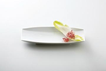 【まとめ買い10個セット品】和食器 ホワイト 舟型付出皿 36K401-09 まごころ第36集 【キャンセル/返品不可】【開業プロ】