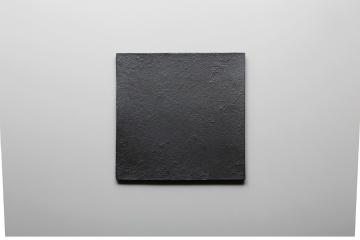 和食器 黒 8.0正角皿 35Q389-05 まごころ第35集
