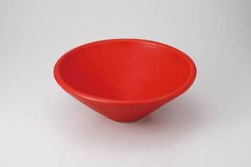 【まとめ買い10個セット品】和食器 赤ガラス 24cm(小) 35K542-25 まごころ第35集 【キャンセル/返品不可】【開業プロ】