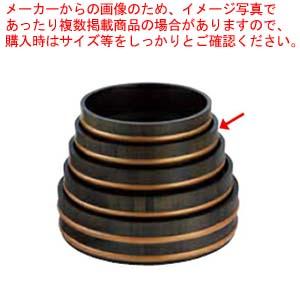 和食器 天然木盛込桶黒彩色 目皿付 尺1 36R526-52 まごころ第36集 【メイチョー】