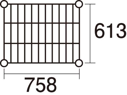 スーパーエレクター LS760:P1590:5段 【メイチョー】