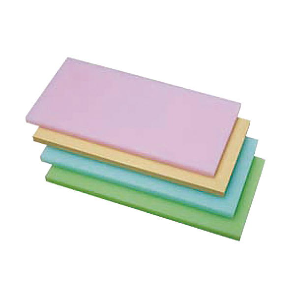 K型PCオールカラーまな板 K2 グリーン 550x270xH30 【メイチョー】