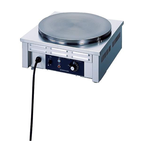 電気 クレープ焼器 CM-410 φ410mm 【メイチョー】