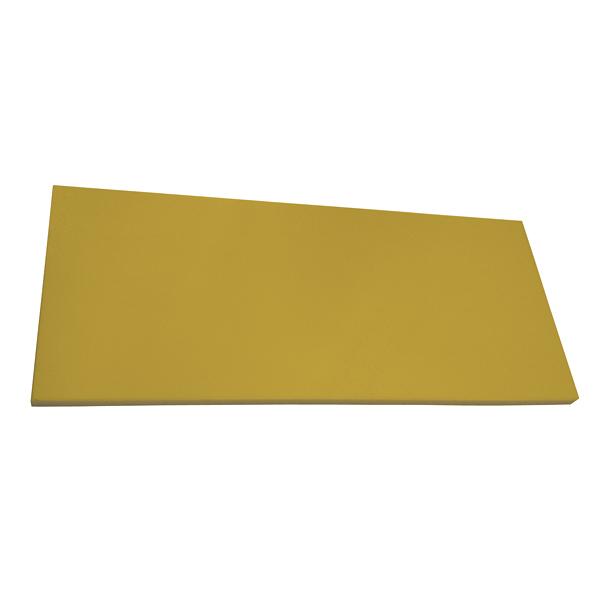 抗菌エラストマーまな板 からし 490x340x8 【メイチョー】