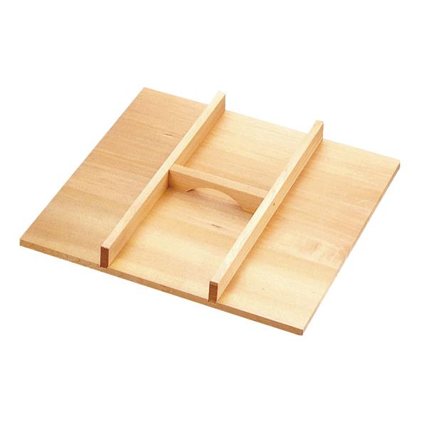木製 角セイロ用 手付蓋 (サワラ材) 36cm用 【メイチョー】