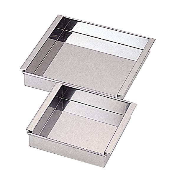 販売 kisi-12-0205-1305 18-8 業務用玉子豆腐器 27cm メイチョー 2020モデル 関東型