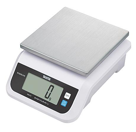 タニタ デジタル防水スケール KW-210 2kg 【メイチョー】
