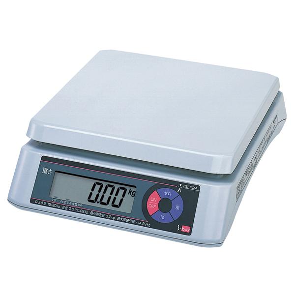 イシダ 上皿型重量はかり S-box 30kg 【メイチョー】