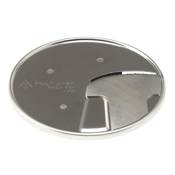 マルチシェフ フードプロセッサー用パーツ 1mmスライサー(正広製) MC-1000FPMPMC1-001 【メイチョー】