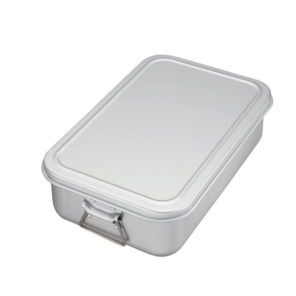アルミ 蒸気用炊飯鍋 蓋付 6.3l(3.5升) 【メイチョー】