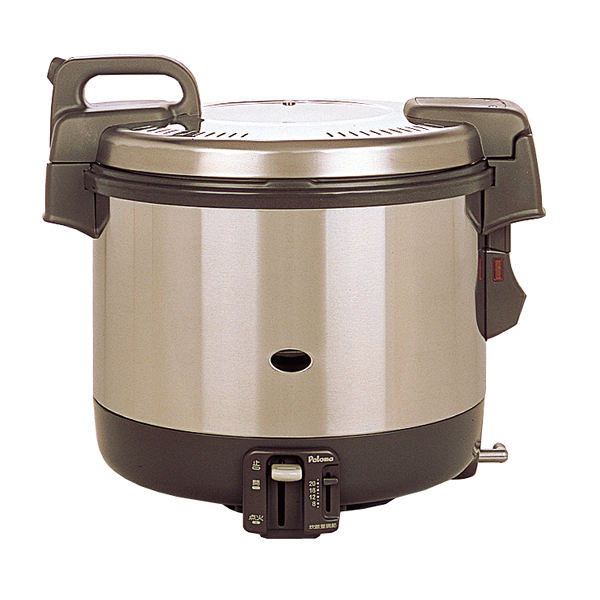 パロマ 電子ジャー付 ガス炊飯器 PR-4200S(2升炊き・フッ素釜) LP 【メイチョー】