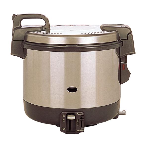パロマ 電子ジャー付 ガス炊飯器 PR-4200S(2升炊き・フッ素釜) 13A 【メイチョー】