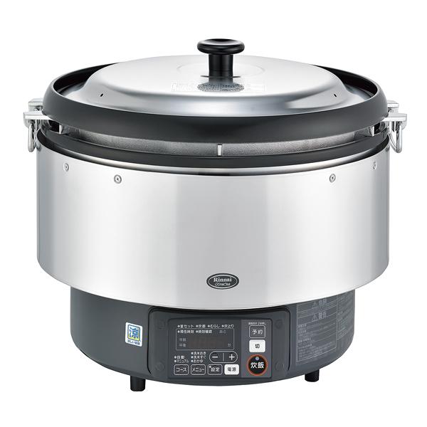 リンナイ αかまど炊き炊飯器(涼厨) RR-S500G(3升炊き・フッ素釜) LP 【メイチョー】