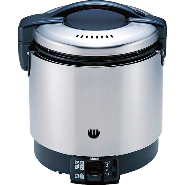 リンナイ ガス炊飯器(涼厨) RR-S100GS(1升炊き・フッ素釜) 13A 【メイチョー】