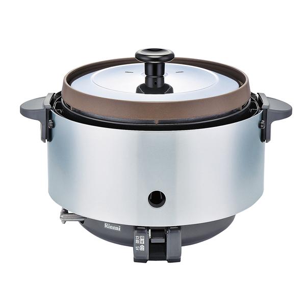 リンナイ ガス炊飯器(涼厨) RR-S15SF(1.5升炊き・フッ素釜) LP 【メイチョー】