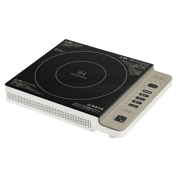 シュアー IH調理器 SIH-1400BE(音静タイプ) 【メイチョー】