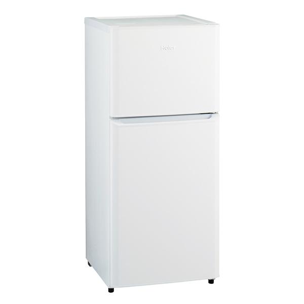 ハイアール 2ドア冷凍冷蔵庫 JR-N121A(W) 【メイチョー】