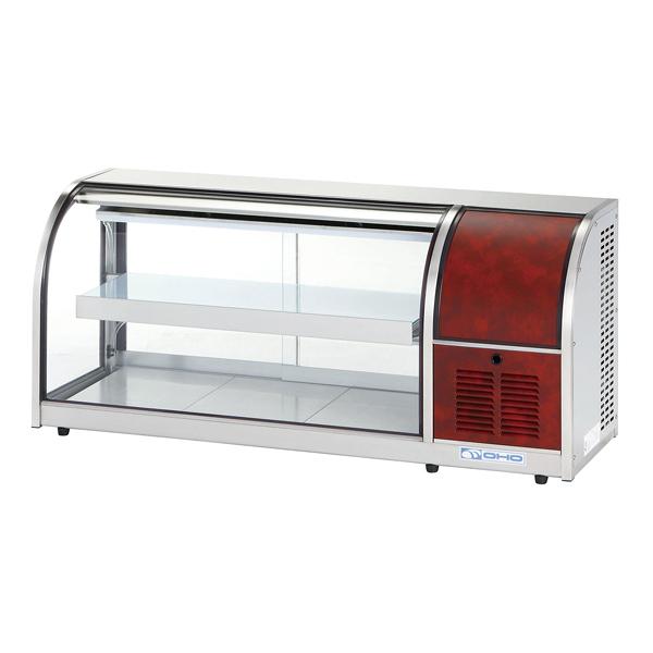 冷蔵ショーケース OHLMc型(卓上タイプ) OHLMc-1200-F(前引戸) 右(R) 【メイチョー】