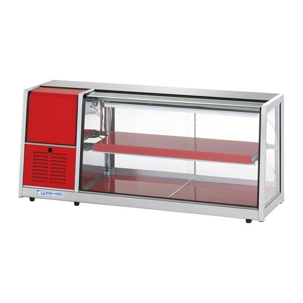 冷蔵ショーケース OHLAc型(卓上タイプ) OHLAc-1200-B(後引戸) 左(L) 【メイチョー】