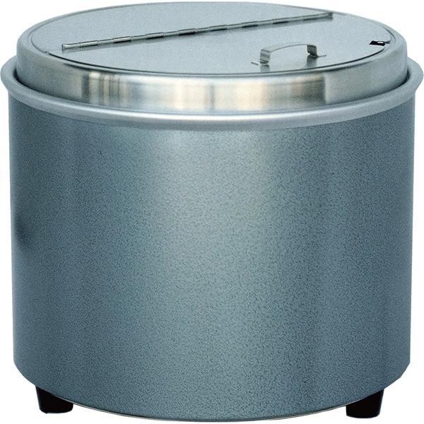 エバーホット 湯煎式スープウォーマー(80℃固定) NL-16S 【メイチョー】