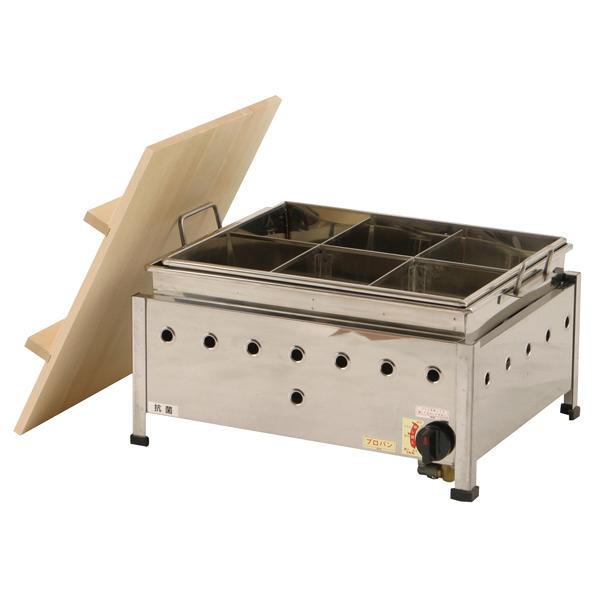 湯煎式おでん鍋(自動点火) OA13SWI 13A 【メイチョー】
