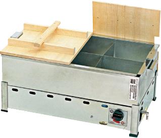 驚きの価格 湯煎式 おでん鍋 KOT-1(自動点火・立消え安全装置付) KOT-1-B LP 【メイチョー】, オオセトチョウ 5253e7d3