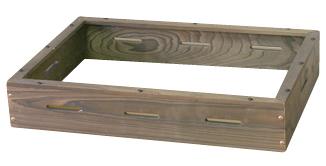 電気おでん鍋用 木枠(焼杉) NHO-6SY用 【メイチョー】