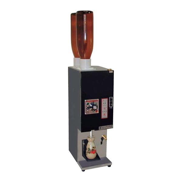 電気式 酒燗器 (1本取り) REW-1 (2本立て) 【メイチョー】