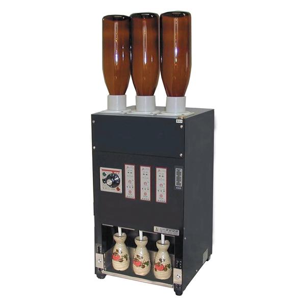 電気式 酒燗器 (3本取り) RE-3 (3本立て) 【メイチョー】