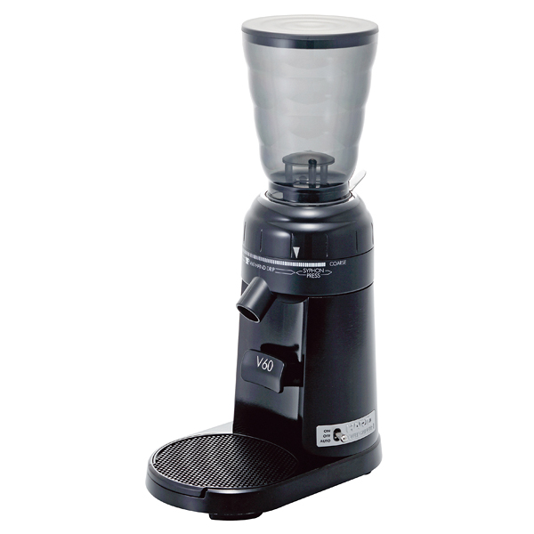 ハリオ V60電動コーヒーグラインダー EVCG-8B-J 【メイチョー】