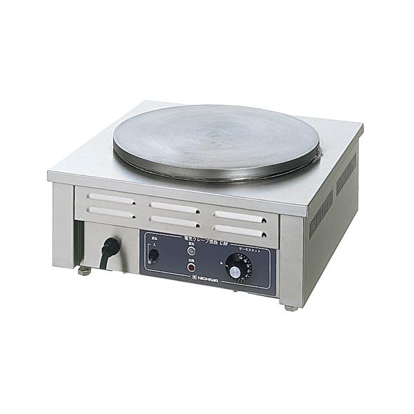 電気クレープ焼器 CM-360(1連式) 【メイチョー】
