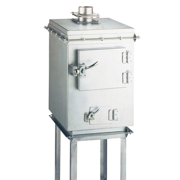 炭箱 10kgタイプ(架台付) 【メイチョー】
