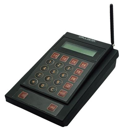 お客様呼び出しシステム コールギア GEAR10セット 赤 【メイチョー】