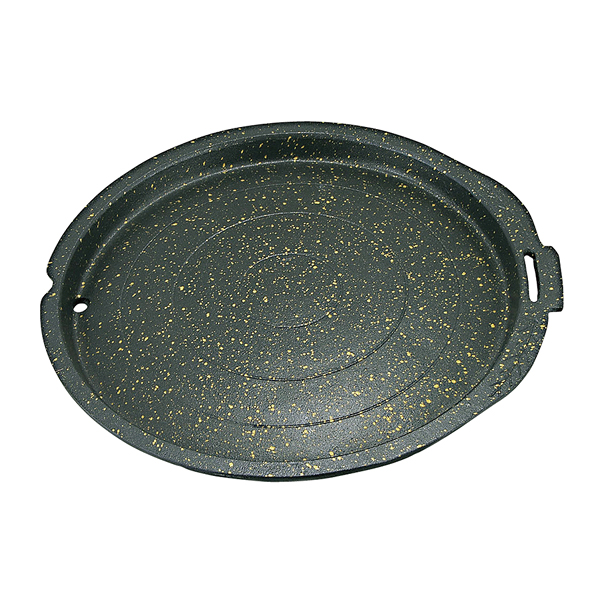 韓国産 アップル焼肉鍋 (直火用) 38cm 【メイチョー】