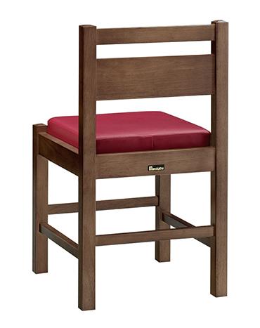 和風椅子 阿山D ダークブラウン 1155-1867(カスリレザー) 【メイチョー】