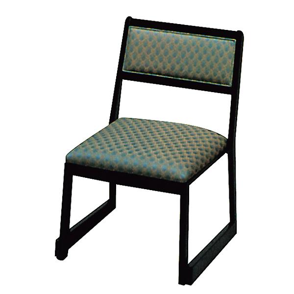 高脚座椅子(スタッキング式) 喜楽35N サペリ色 【メイチョー】