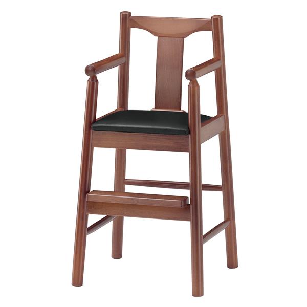 ジュニア椅子 パンダK カームブラウン 1241-1753(シート:赤) 【メイチョー】