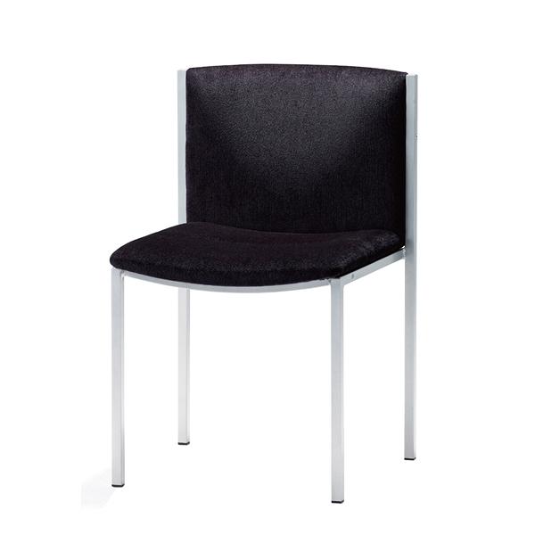 椅子 S401-11MS (ブラック) 【メイチョー】