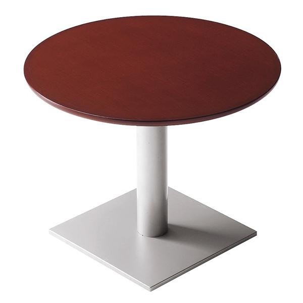 丸テーブルT01 2N-900φ・EV-SI 【メイチョー】