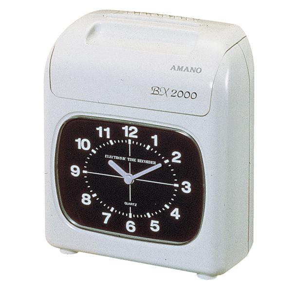 AMANO タイムレコーダー 電子タイムレコーダーBX2000 【メイチョー】