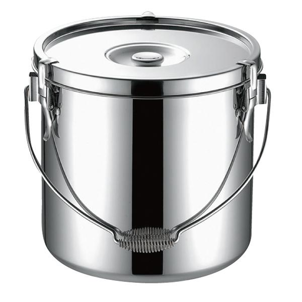 KO19-0 電磁調理器対応 給食缶 18cm 【メイチョー】