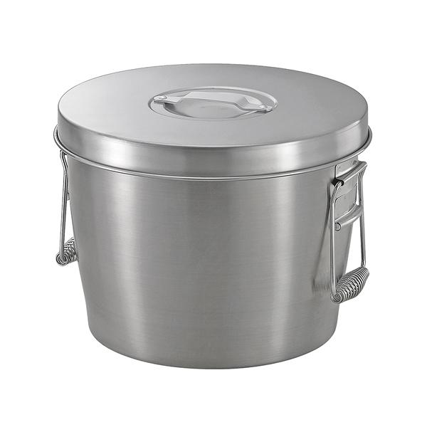 二重ステンレス食缶 中蓋式 ASW-10 【メイチョー】