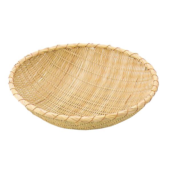 竹製揚ザル [外]42cm 【メイチョー】