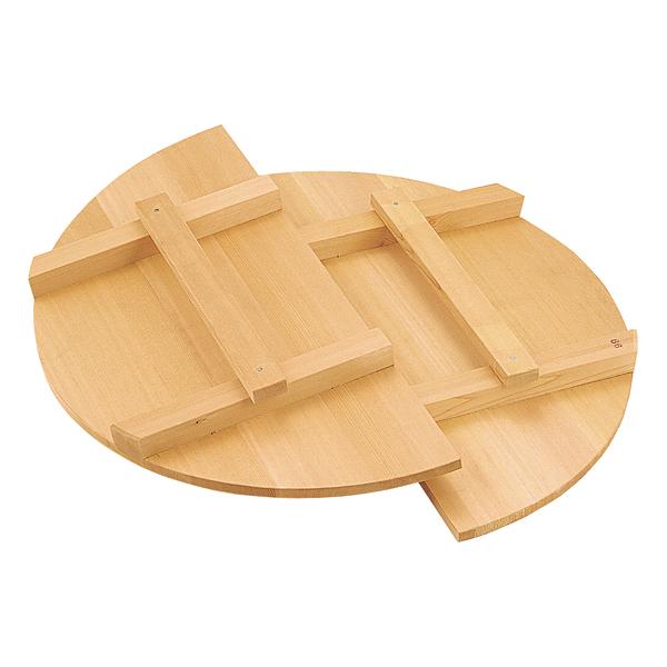 (さわら材) 【メイチョー】 二本桟取手付 [外]63cm 一枚物 羽反蓋